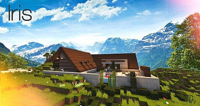 Maison Cool Minecraft. Simple Ainsi Il A Demand De Luaide Aux ...