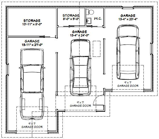 dimension d un garage l 39 impression 3d. Black Bedroom Furniture Sets. Home Design Ideas