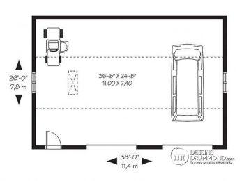Plan garage archives page 69 sur 73 l 39 impression 3d for Garage 40m2