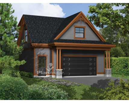 Plan de garage avec logement - L'impression 3D