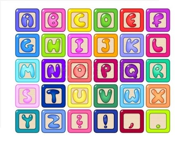 Lettres imprimer et d couper l 39 impression 3d - Lettre a decouper ...