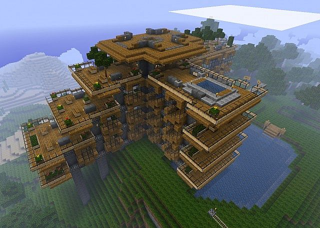 Model Maison Minecraft : Model de maison minecraft l impression d