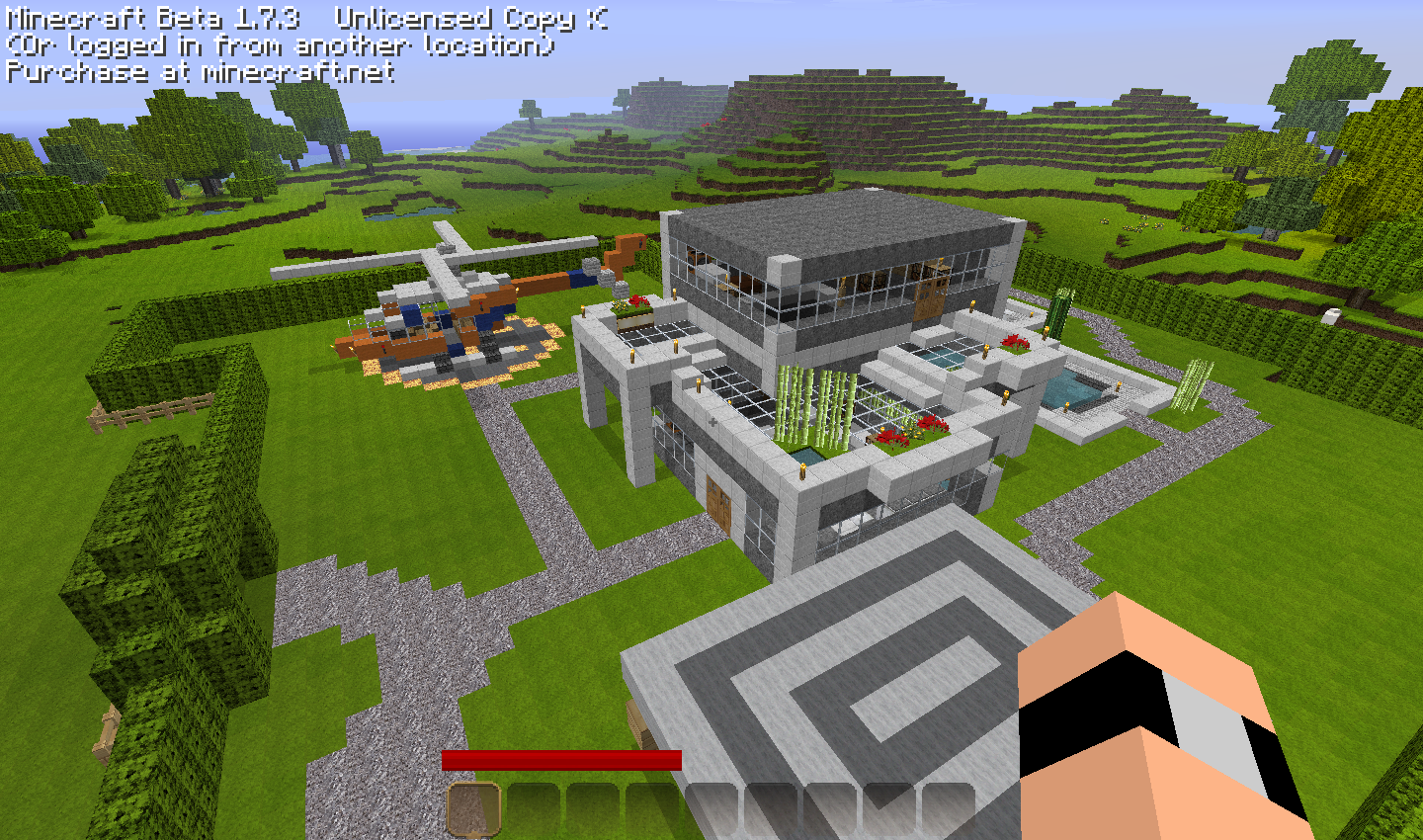 Extrem Video minecraft comment faire une maison moderne - L'impression 3D EM94