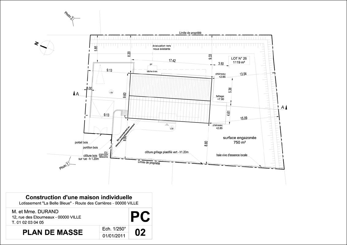 modele permis de construire garage l 39 impression 3d. Black Bedroom Furniture Sets. Home Design Ideas