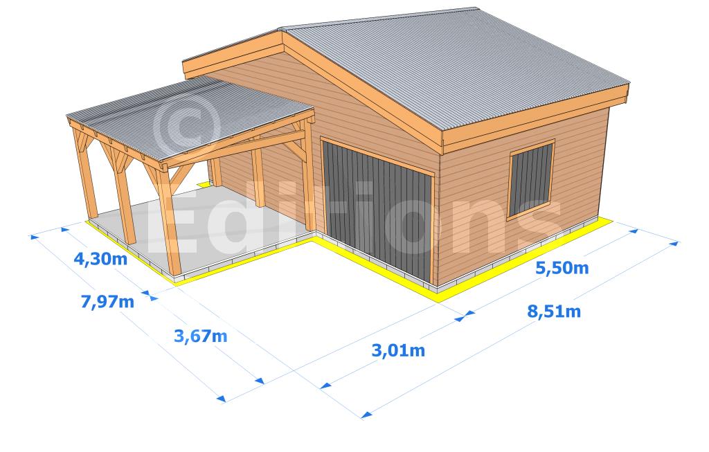 Permis de construire garage ind pendant l 39 impression 3d for Garage et permis de construire