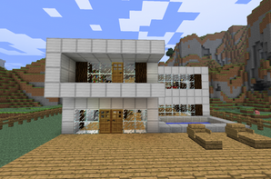 Plan De Maison Moderne Minecraft. Perfect Plan Maison Moderne ...