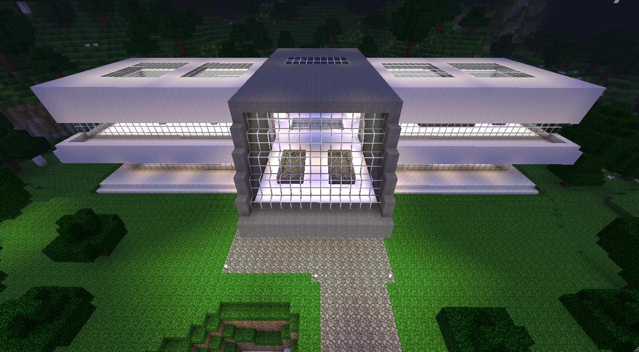 Maison De Luxe Moderne Minecraft Photos - Payn.us - payn.us