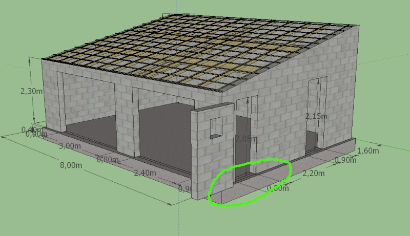 Construire garage parpaing l 39 impression 3d for Cout construction garage 20m2