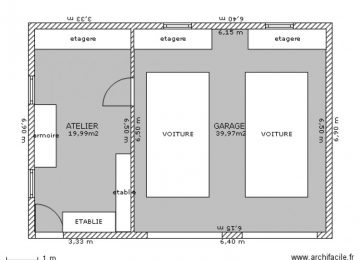 Plan garage archives page 45 sur 73 l 39 impression 3d for Garage 40m2
