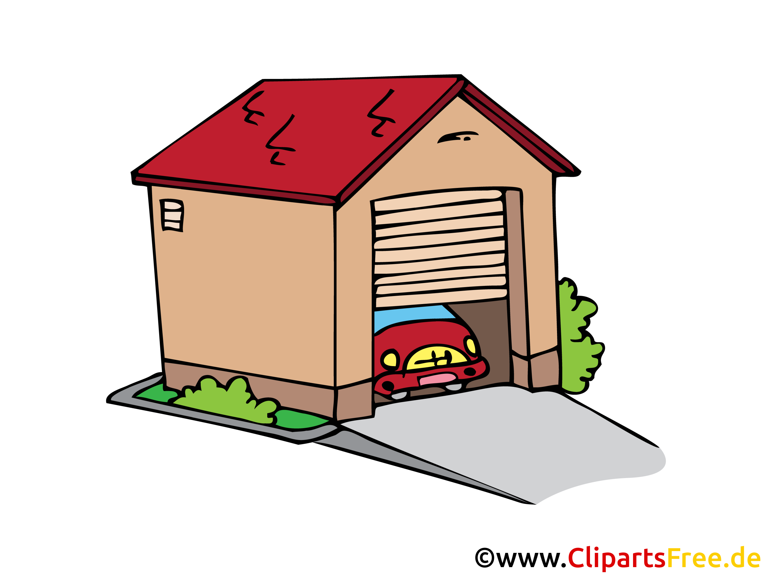 Garage dessin l 39 impression 3d - Dessin garage ...