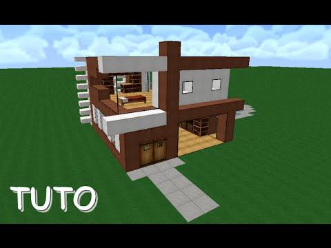 Comment faire une maison comment faire une suite for Maison moderne dans minecraft