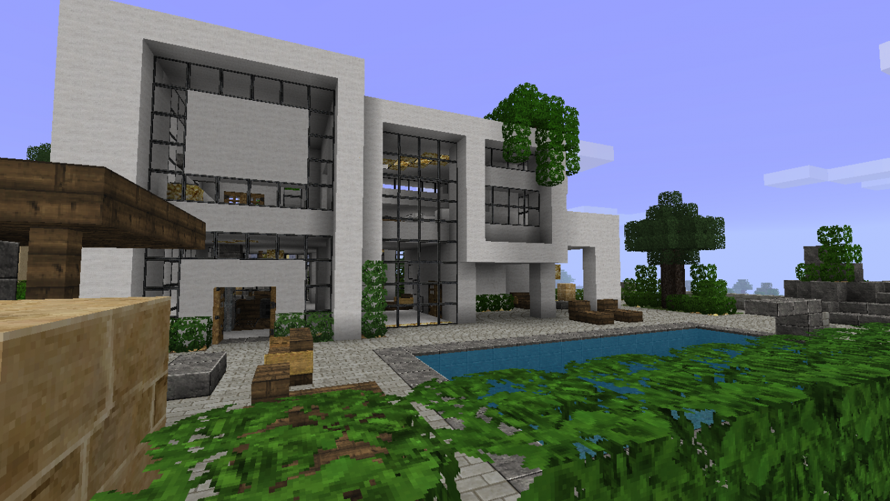 Exceptionnel Beautiful Maison De Luxe Moderne Minecraft Gallery - Awesome  FZ06