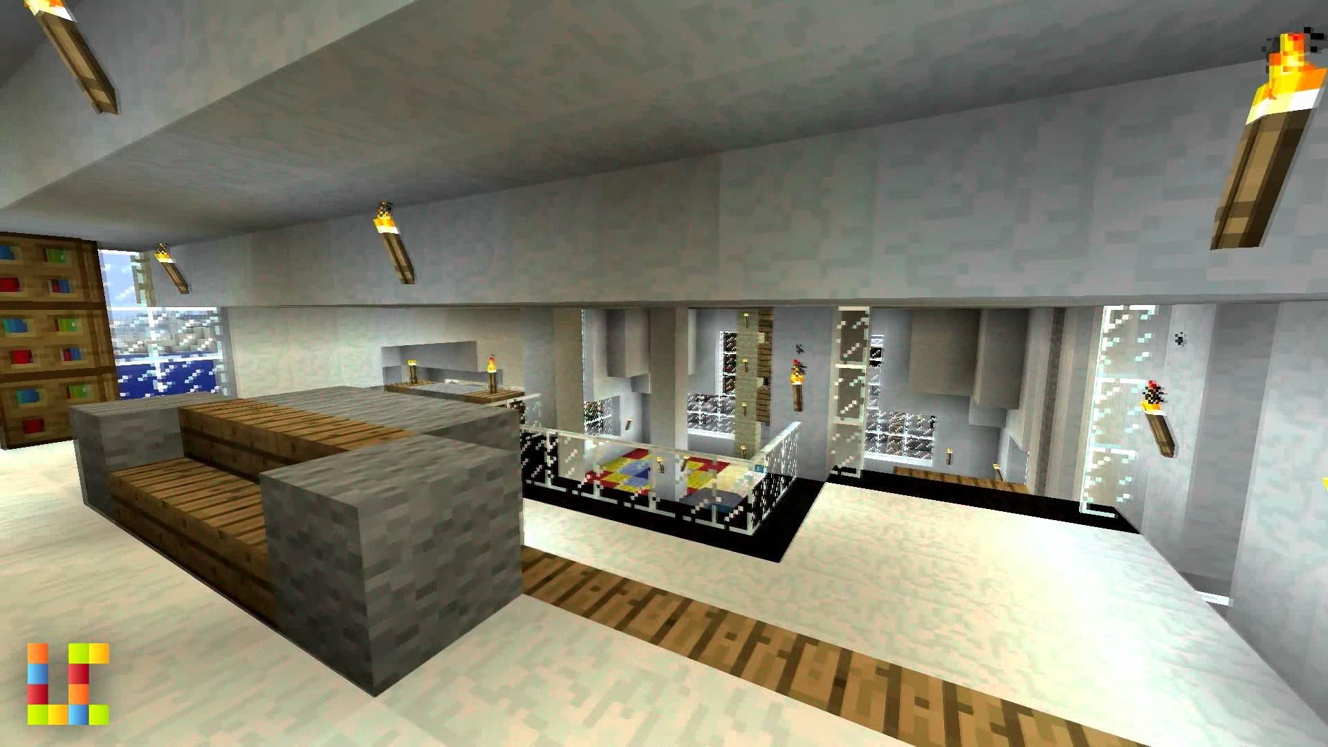 Interieur maison moderne minecraft l 39 impression 3d for Interieur maison 3d
