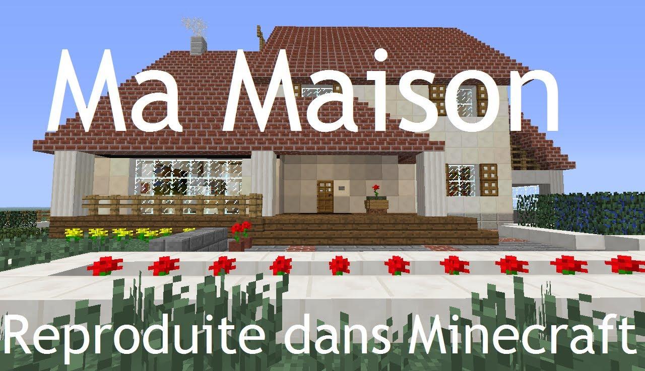 Ma Maison Minecraft L 39 Impression 3d
