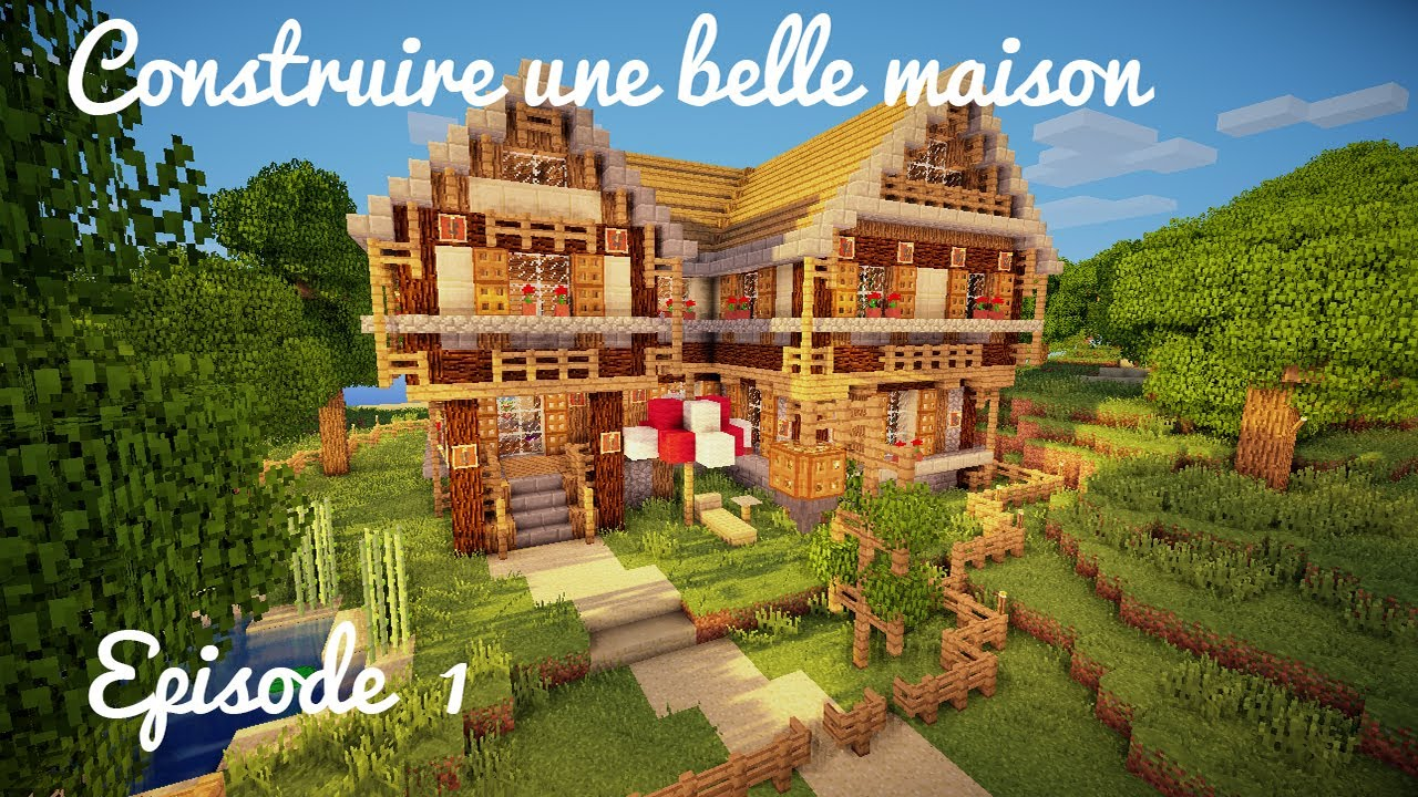 Comment cr er une belle maison sur minecraft l 39 impression 3d - Comment creer une belle maison sur minecraft ...