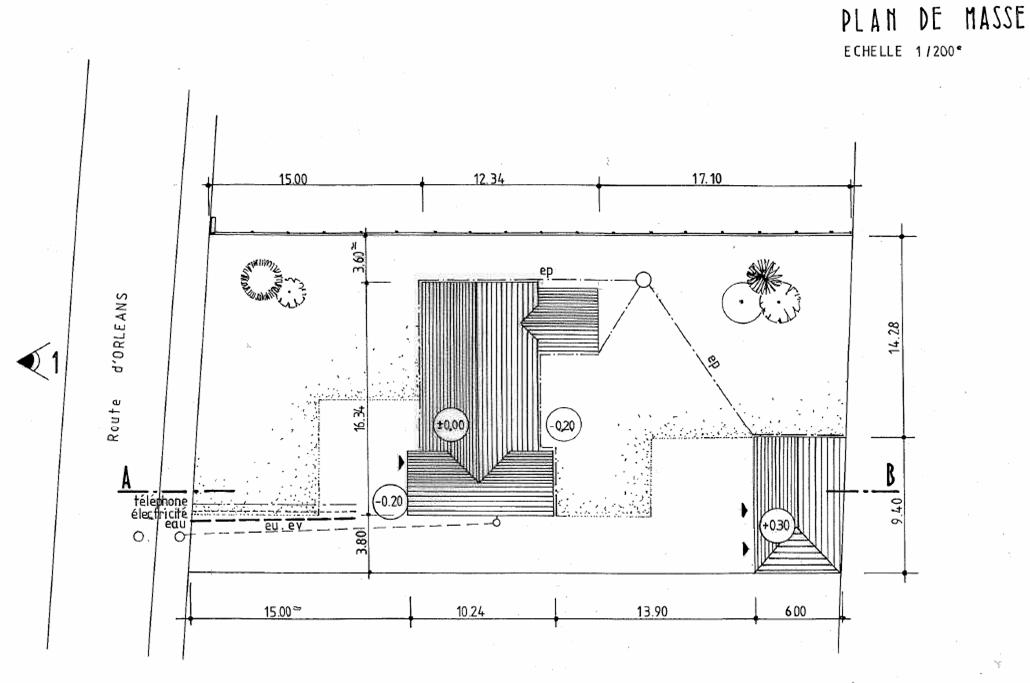 Plan de masse garage l 39 impression 3d - Dessiner un plan de masse ...