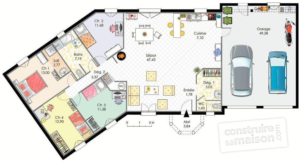 Maison plan l 39 impression 3d - Simulation plan maison ...