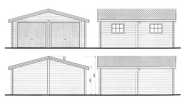 Exemple de plan de garage l 39 impression 3d for Garage design source