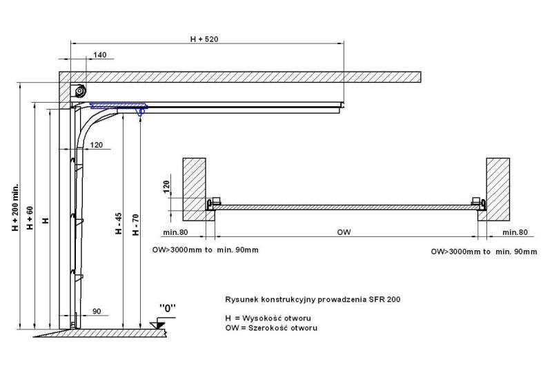 Porte garage plan l 39 impression 3d - Plan de montage porte de garage sectionnelle ...